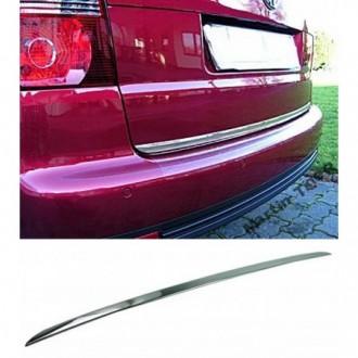 VW TOURAN 1T1 1T2 - CHROME Rear Strip Trunk Tuning Lid 3M...