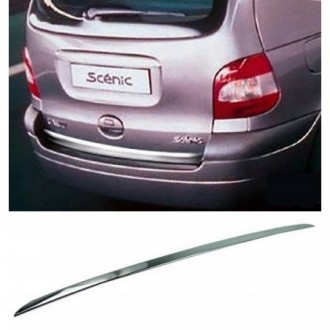 Renault SCENIC I - CHROME Rear Strip Trunk Tuning Lid 3M...