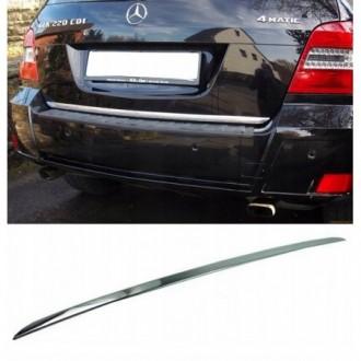Mercedes GLK X204 - CHROME Rear Strip Trunk Tuning Lid 3M...