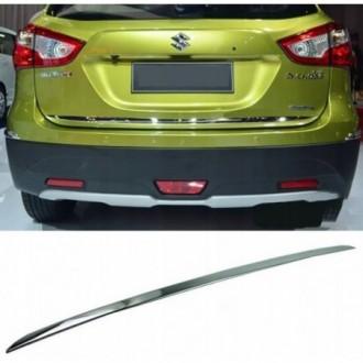 SUZUKI SX4 S-CROSS - CHROME Rear Strip Trunk Tuning Lid...