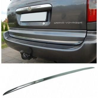 Chrysler Voyager Grand III, IV - CHROME Rear Strip Trunk...