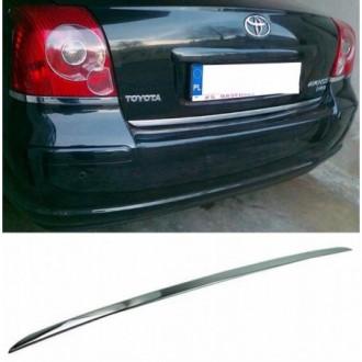 Toyota AVENSIS T25 Hatchback - CHROME Rear Strip Trunk...