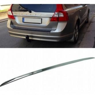 Volvo V70 XC70 III - CHROME Rear Strip Trunk Tuning Lid...