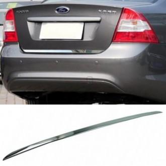 FORD Focus II Sedan - CHROME Rear Strip Trunk Tuning Lid...