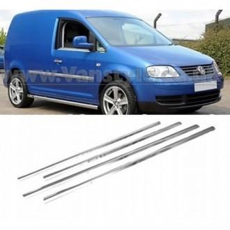 VW Volkswagen CADDY MAXI - Chrom Zierleisten Türleisten