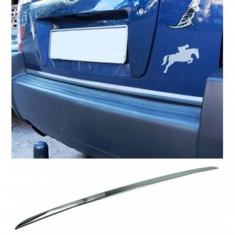 Hyundai TUCSON - CHROME Rear Strip Trunk Tuning Lid 3M Boot