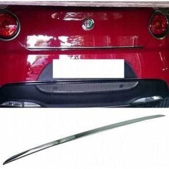 Alfa Romeo MITO - CHROME Rear Strip Trunk Tuning Lid 3M Boot