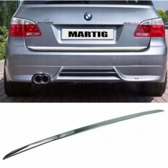 BMW 5 E61 Kombi Touring - CHROME Rear Strip Trunk Tuning...