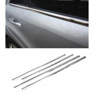 AUDI A4 B7 Sedan - Chrome side door trim