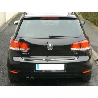 VW GOLF 6 VI - Chrom-Zierleiste Heckleiste 3M Tuning Chromleiste Heckklappe