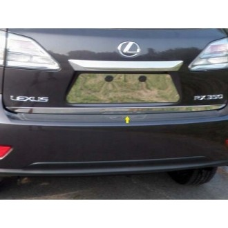 LEXUS RX II 03-08 - CHROME Rear Strip Trunk Tuning Lid 3M Boot
