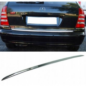 Mercedes C Klasa S203 Kombi - CHROME Rear Strip Trunk...
