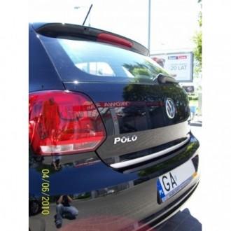 VW POLO 5 V - Chrom-Zierleiste Heckleiste 3M Tuning Chromleiste Heckklappe