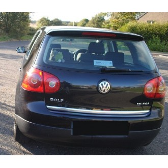 VW GOLF V HB - CHROME Rear Strip Trunk Tuning Lid 3M Boot