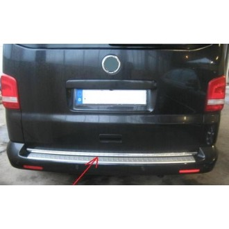 VW T5 Transporter Caravelle - CHROME Rear Strip Trunk Tuning Lid 3M Boot