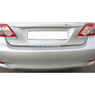 Toyota Corolla X E15 - CHROME Rear Strip Trunk Tuning Lid 3M Boot