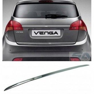 KIA VENGA YN 10 - CHROME Rear Strip Trunk Tuning Lid 3M Boot