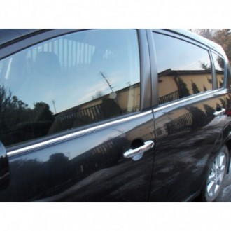 Toyota COROLLA VERSO 2 - Chrome side door trim