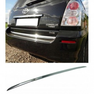 Toyota COROLLA VERSO II 04 - CHROME Rear Strip Trunk...