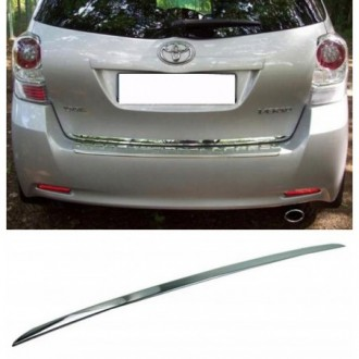 Toyota VERSO - CHROME Rear Strip Trunk Tuning Lid 3M Boot