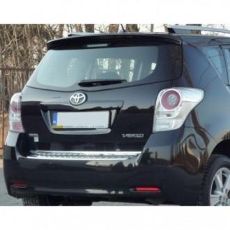 Toyota VERSO - Chrom-Zierleiste Heckleiste 3M Tuning Chromleiste Heckklappe