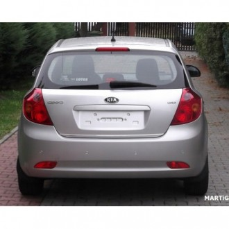 FORD C-MAX II 2010 - CHROME Rear Strip Trunk Tuning Lid 3M Boot