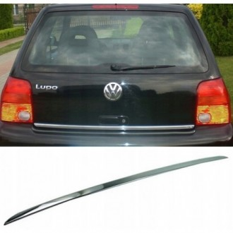 VW LUPO - CHROME Rear Strip Trunk Tuning Lid 3M Boot