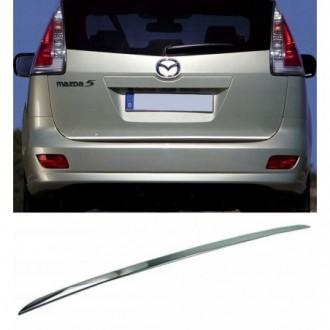 Mazda 5 I CR19 05-10 - CHROME Rear Strip Trunk Tuning Lid...