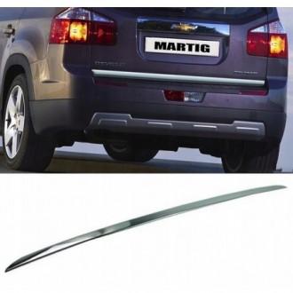 Chevrolet ORLANDO - CHROME Rear Strip Trunk Tuning Lid 3M...
