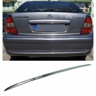 CITROEN C5 I Sedan - CHROME Rear Strip Trunk Tuning Lid...