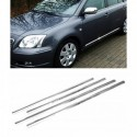 Peugeot 508 Sedan - CHROME Rear Strip Trunk Tuning Lid 3M Boot