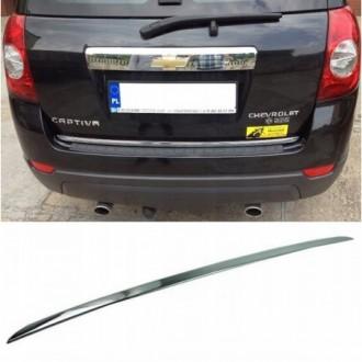 Chevrolet CAPTIVA I, II - CHROME Rear Strip Trunk Tuning...