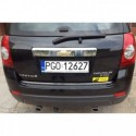 SUZUKI VITARA 14 - CHROME Rear Strip Trunk Tuning Lid 3M Boot