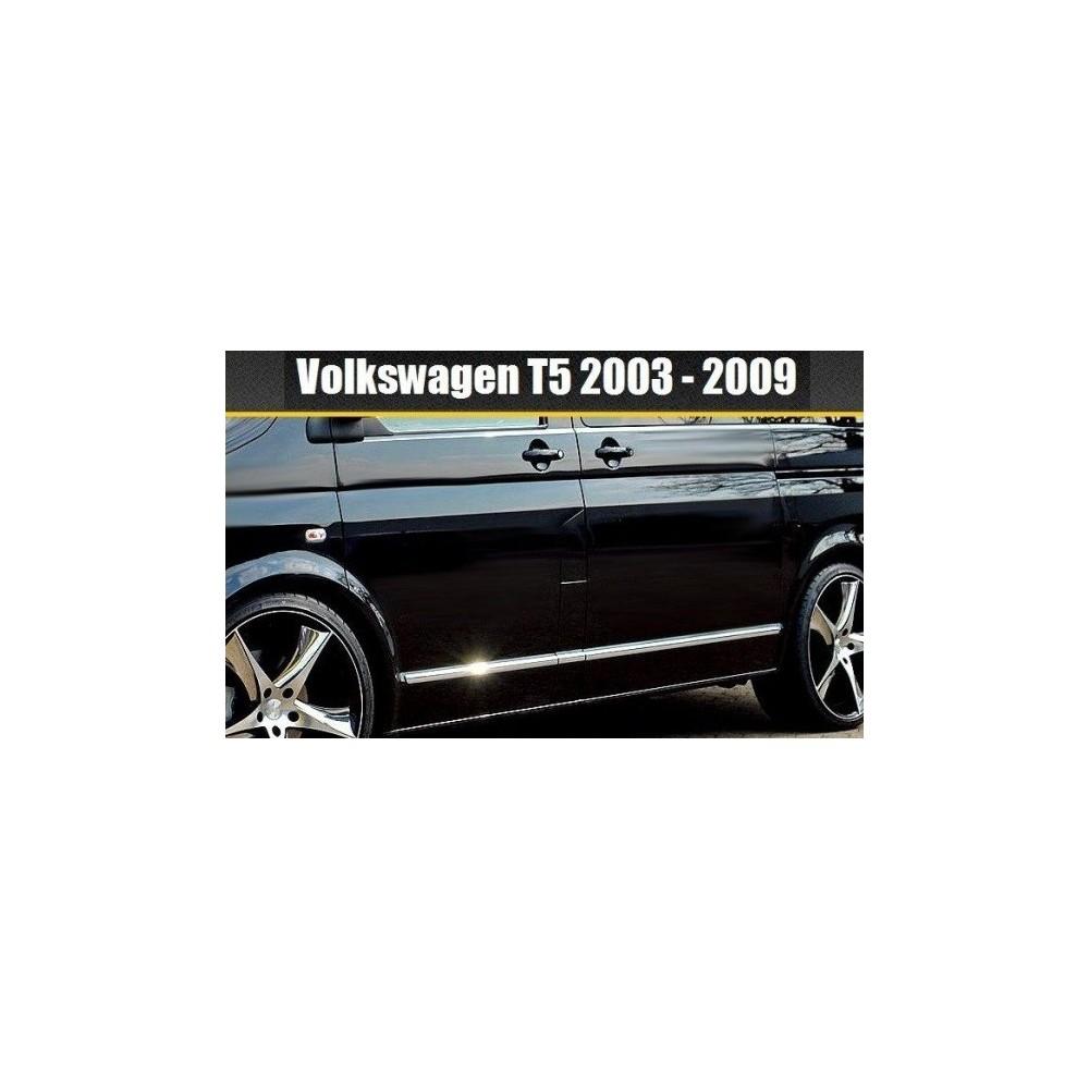 VW Volkswagen BORA 1J6 Estate 98-05 - Chrome Trim Strips Covers Side Door Tuning & VW Transporter Caravelle Multivan T5 03-15 - Chrome Trim Strips ...
