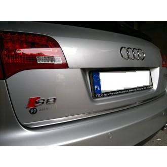 Audi A6 C6 Sedan 04-11 - Listwa Chrom chromowana 3M ochronna na klapę bagażnika