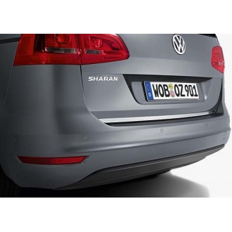 VW SHARAN 7N0 - Chrome Trim Strip Lid Trunk Rear Cover Tailgate Tuning 3M