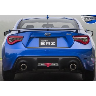 SUBARU BRZ - Chrome Trim Strip Lid Trunk Rear Cover Tailgate Tuning 3M