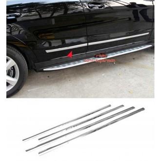 Toyota Corolla XII Sedan listwy boczne drzwi CHROM