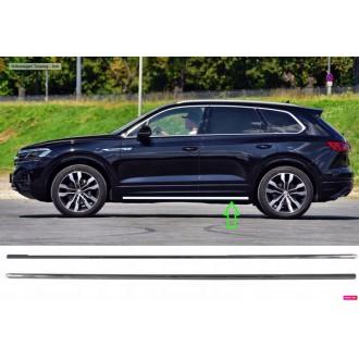 SEAT LEON 3 III HB - Chrom Schwellwert-Lamellen für Fahrzeuge