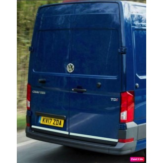 VW Volkswagen CRAFTER II - CHROME Rear Strip Trunk Tuning Lid 3M Boot