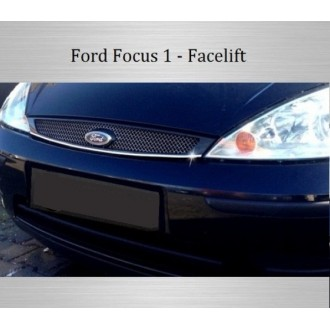 Ford Focus Mk1 - Chrome Grille Kit 3M Tuning