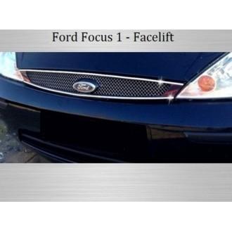 Ford Focus Mk1 - Chrom Kühlergrill 3M Tuning
