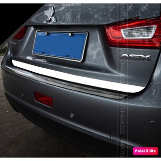 White Rear Strip Trunk Tuning Lid 3M Boot