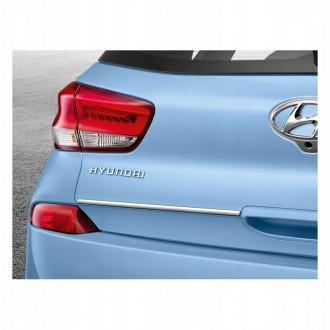 Hyundai i30 III 16+ - CHROME Rear Strip Trunk Tuning Lid 3M Boot