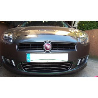 FIAT BRAVO II 2 - Chrome Grille Kit 3M Tuning