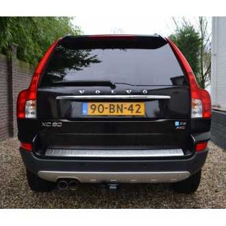 VOLVO XC90 - CHROME Rear Strip Trunk Tuning Lid 3M Boot