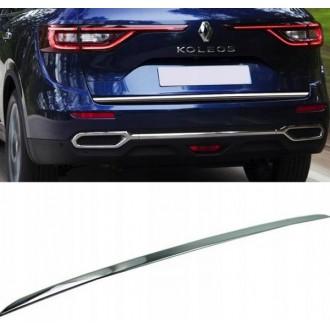 Renault KOLEOS II - Chrom-Zierleiste Heckleiste 3M Tuning Chromleiste Heckklappe