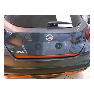 Nissan MICRA IV - ORANGE Rear Strip Trunk Tuning Lid 3M Boot
