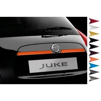 Nissan JUKE - Zierleiste Heckleiste 3M Tuning Chromleiste Heckklappe