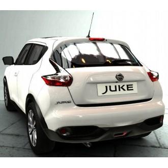 Nissan JUKE - Schwarz-Zierleiste Heckleiste 3M Tuning Chromleiste Heckklappe